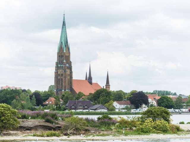 Domkirken i Slesvig er en af seværdighederne I møder på den klassiske byvandring gennem byens historiske kvarterer.