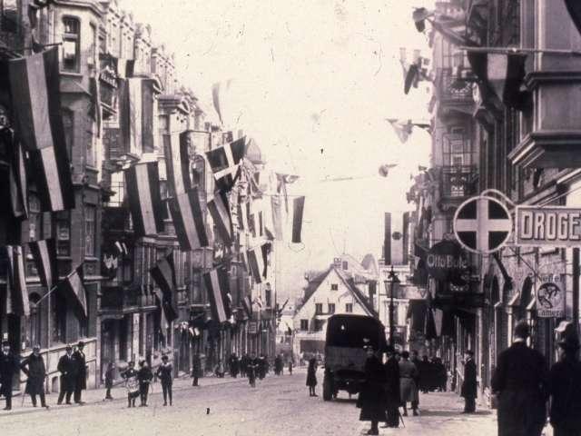 Flensborg i tiden omkring folkeafstemningen i 1920
