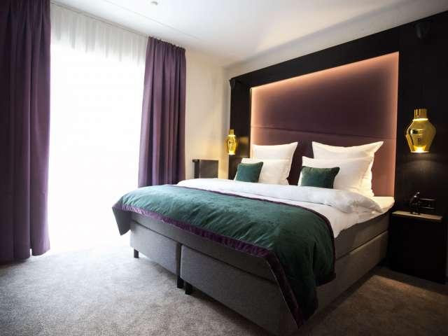 Dobbeltværelse på ONNO Hotel by Norman i Rendsborg