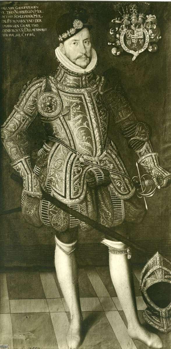 Adolf, hertug af Slesvig-Holsten-Gottorp (1526 - 1586). Maleri fra 1586.