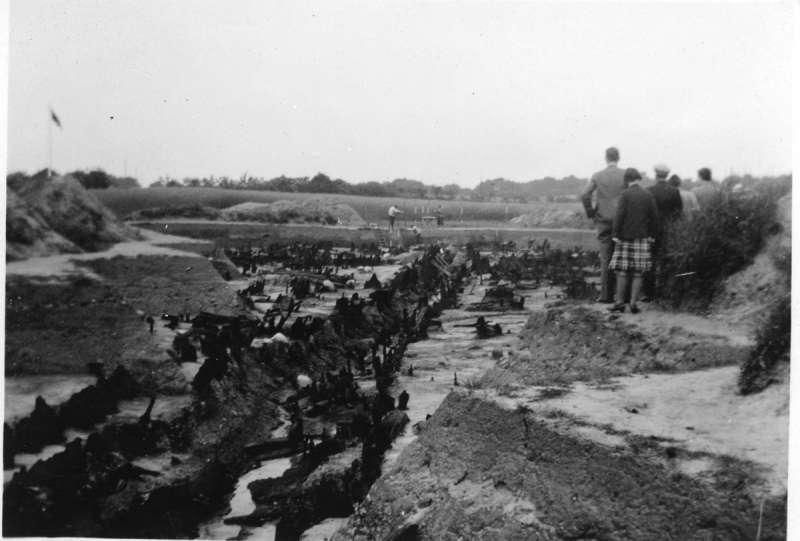 Udgravninger i Hedeby (Haithabu) i 1939