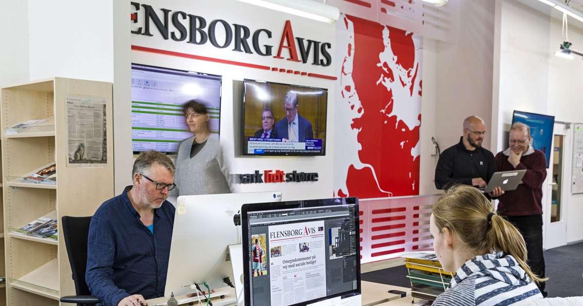 Besøg Flensborg Avis og få en rundvisning i mediehuset