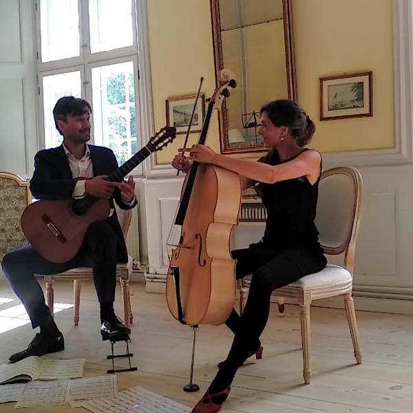 Duo Munk-Riegels på koncert i Ulstrup