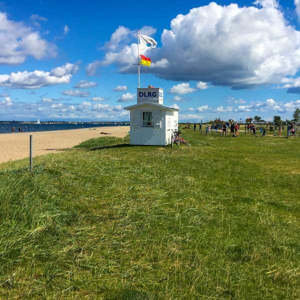 Stranden i Langballeå