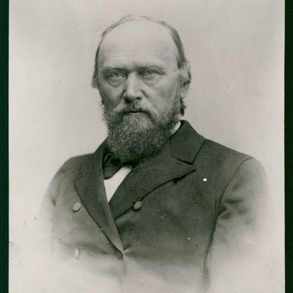 A.D. Jørgensen var en vigtig drivkraft bag grundlæggelsen af Den Slesvigske Samling på Dansk Centralbibliotek i Flensborg