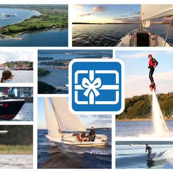 Impressioner fra de forskellige vandsportstilbud fra Fly & Sail i Flensborg