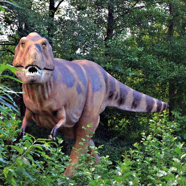 Dinoparken  i Tolkschau Forlystelsesparken i Tolk ved Slesvig