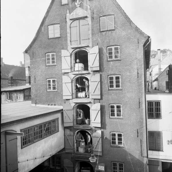 Vestindienpakhuset i Flensborg er et af levnene fra byens handelsforbindelser til De Vestindiske Øer