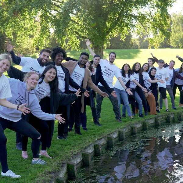 Gruppebillede af Grænseforeningens Kulturambassadører