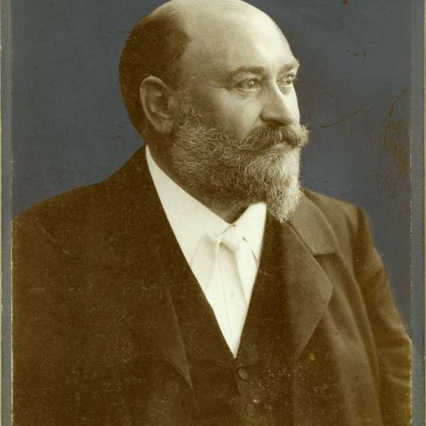 Portræt af Gustav Johannsen