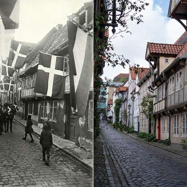Oluf Samsons Gang i Flensborg - dengang og i dag