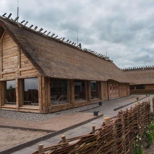 Saunalandskabet i oplevelsesbadet Entdeckerbad på Ostsee Resort Damp