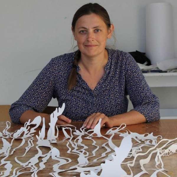 Kunstneren Maja Ingerslev fra Aarhus