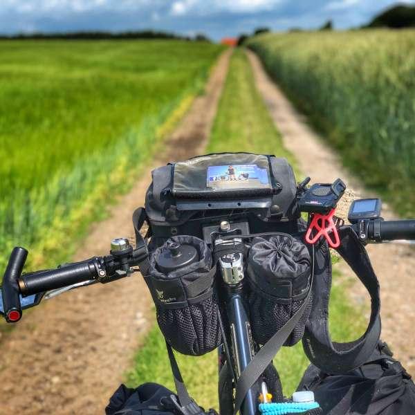 Nicolai Bangsgaard on the road