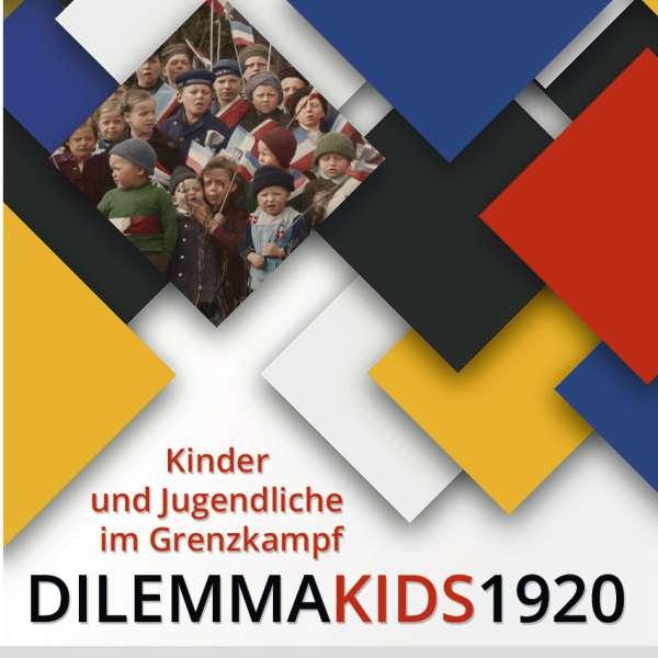 Udstillingsplakat til udstillingen DILEMMAKIDS