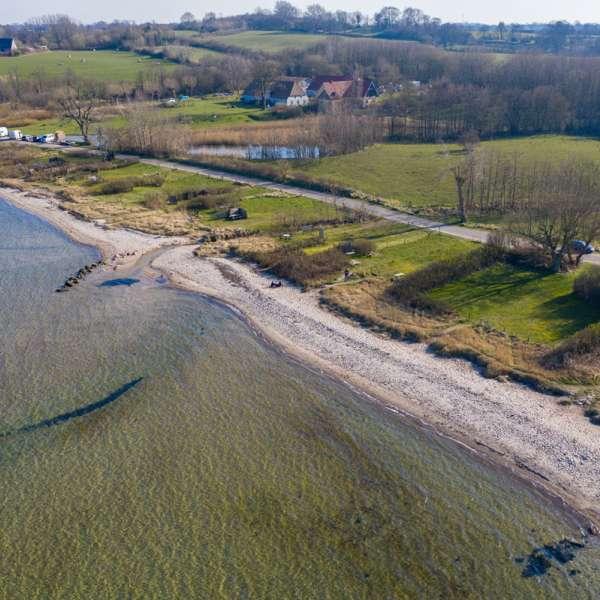 Stranden ved Bogholmvig (Bockholmwik)