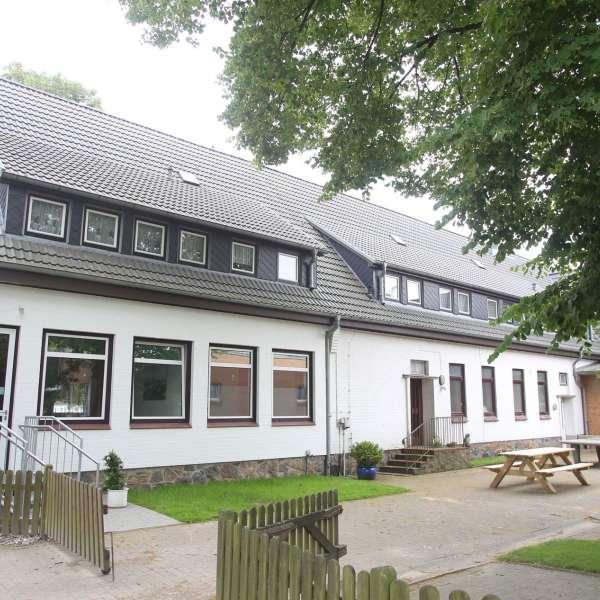Baggården på vandrehjemmet i Frederiksstad
