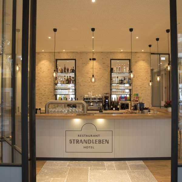 Baren på Hotel Strandleben i Slesvig