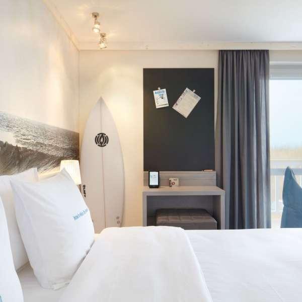 Beachværelse på Beach Motel - Hotel i St. Peter-Ording