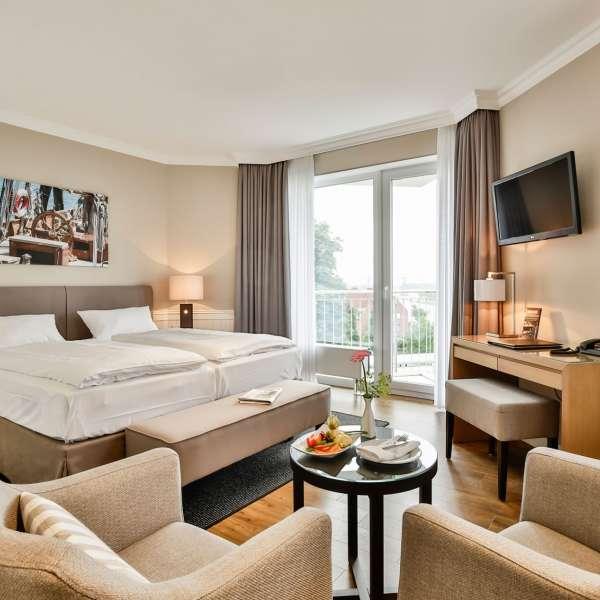 Deluxe-værelse på Hotel ConventGarten i Rendsborg