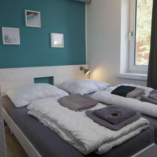 Dobbeltværelse på Flensbed Hostel and Boardinghouse i Flensborg