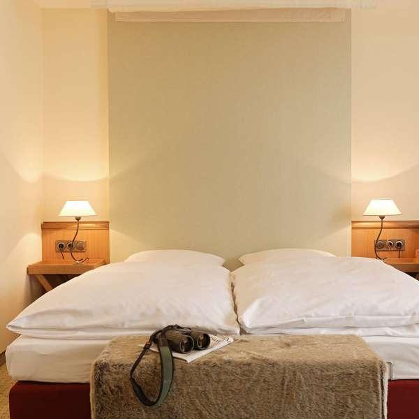 Dobbeltværelse på Hotel Waldschlösschen i Slesvig