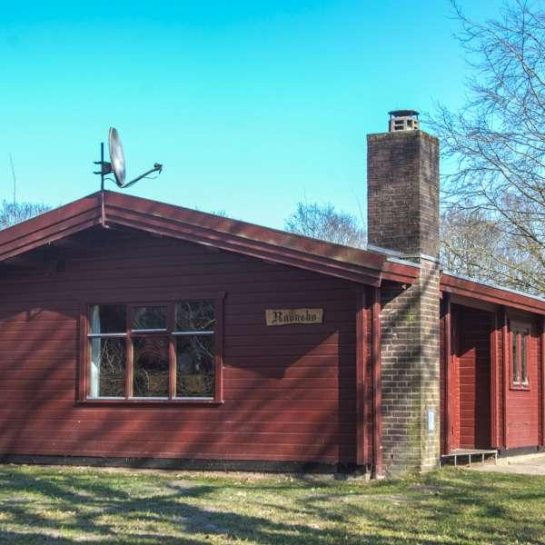En af hytterne på Spejdergården Tydal i Eggebæk