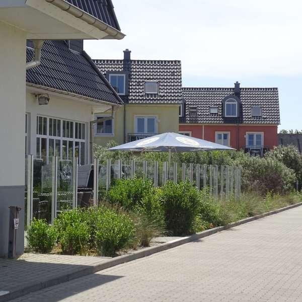 En af restauranterne på Dorfhotel Sylt i Rantum på Sild