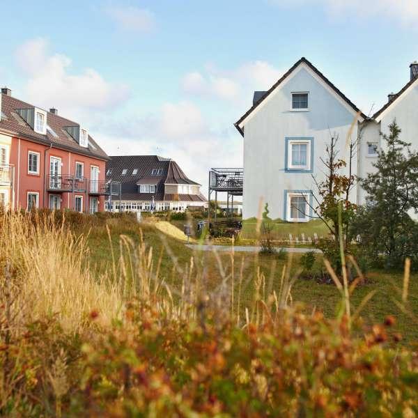 En have af en af ferielejligheder på Dorfhotel Sylt i Rantum på Sild
