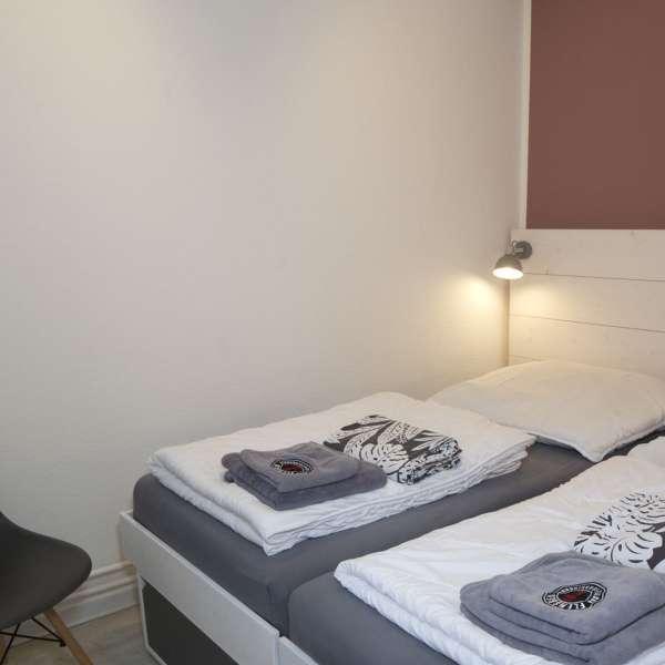 Endnu et dobbeltværelse på Flensbed Hostel and Boardinghouse i Flensborg