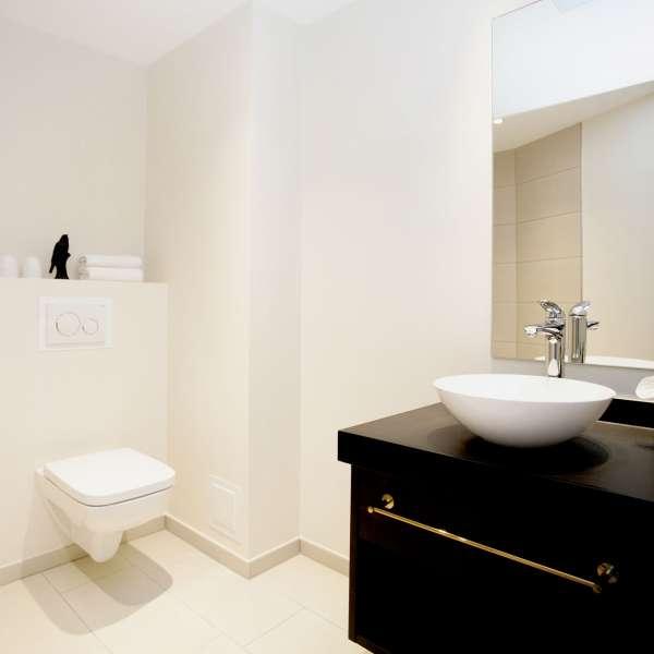 badeværelse på ONNO Hotel by Norman i Rendsborg