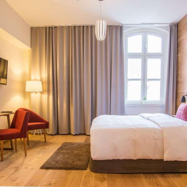 Et designværelse på Hotel Alte Post i Flensborg