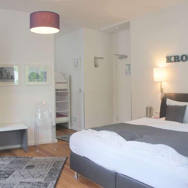 Familieværelse på Hotel 1690 i Rendsborg