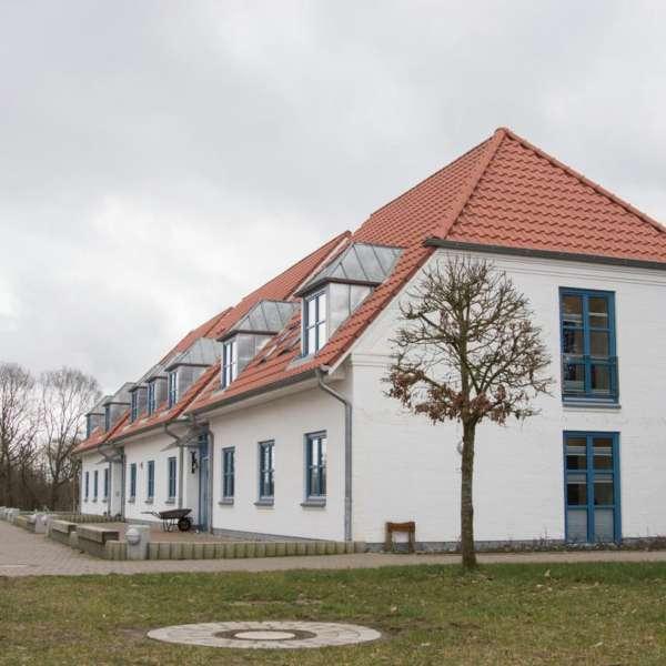 Hovedbygningen på Spejdergården Tydal i Eggebæk