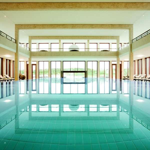 Indendørs-pool på ferieresorten A-ROSA Sylt på Sild