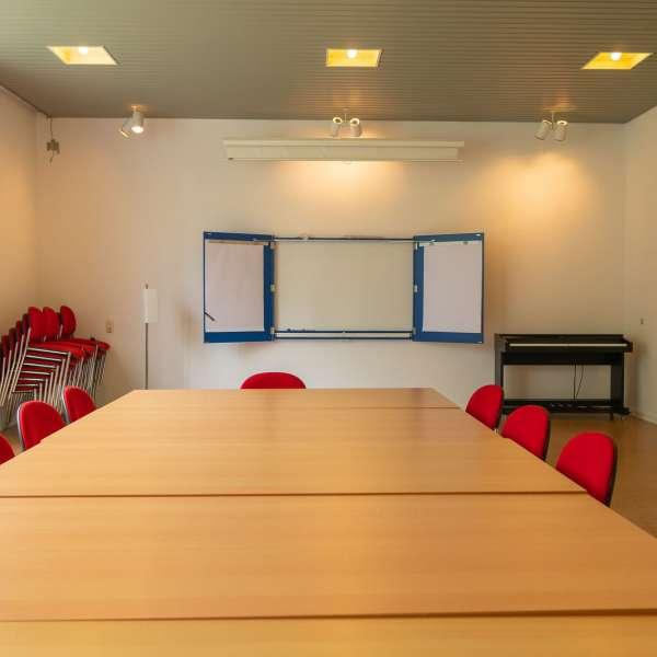 Kursuslokale på lejrskole- og kursuscentret Christianslyst ved Sønderbrarup