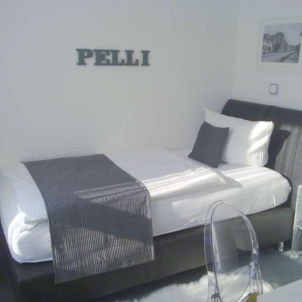 Lille enkeltværelse på Hotel 1690 i Rendsborg