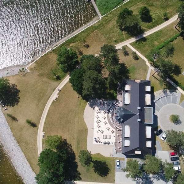 Luftfoto af Hotel Strandleben i Slesvig