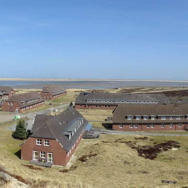 Panoramabillede af vandrehjemmet i List på Sild