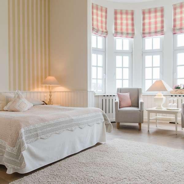 Premium dobbeltværelse på Strandhotel Glücksburg i Lyksborg ved Flensborg
