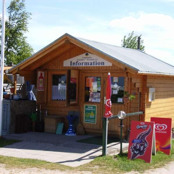 Receptionen på Campingplatz Fördeblick i Westerholz