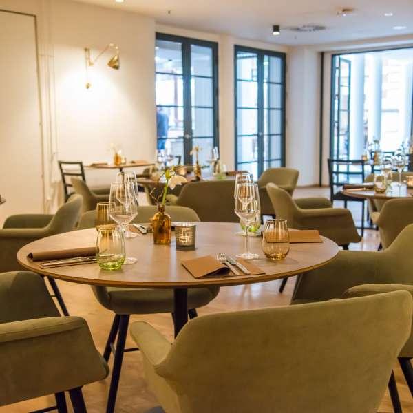 Restauranten 1871 på Hotel Alte Post i Flensborg