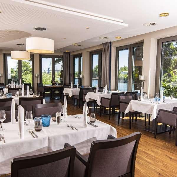 Restaurant Achterdeck på Hotel ConventGarten i Rendsborg