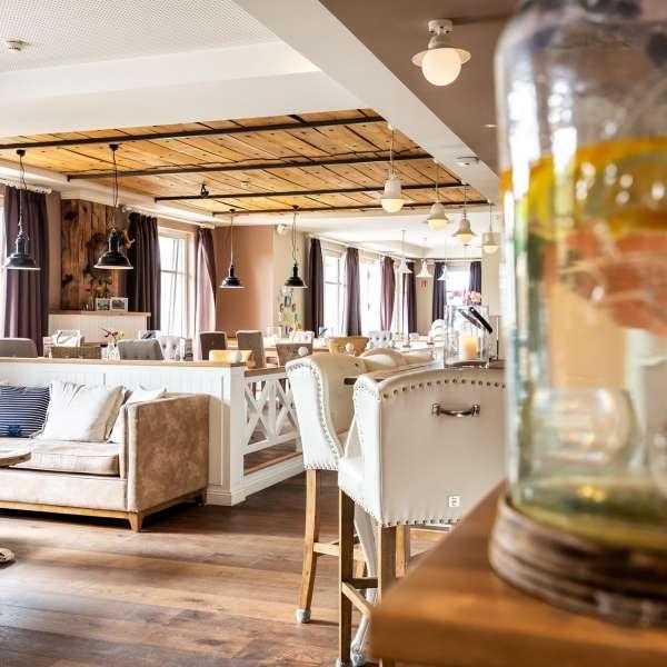 Restauranten Esszimmer på Hotel Zweite Heimat i Sankt Peter-Ording