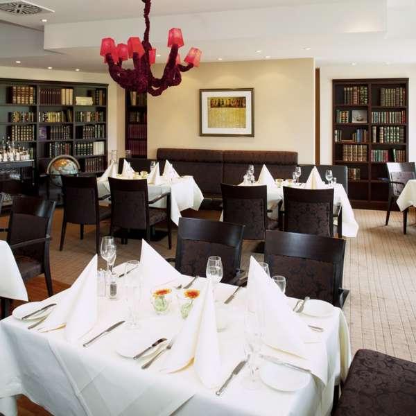 Restauranten på Hotel Waldschlösschen i Slesvig