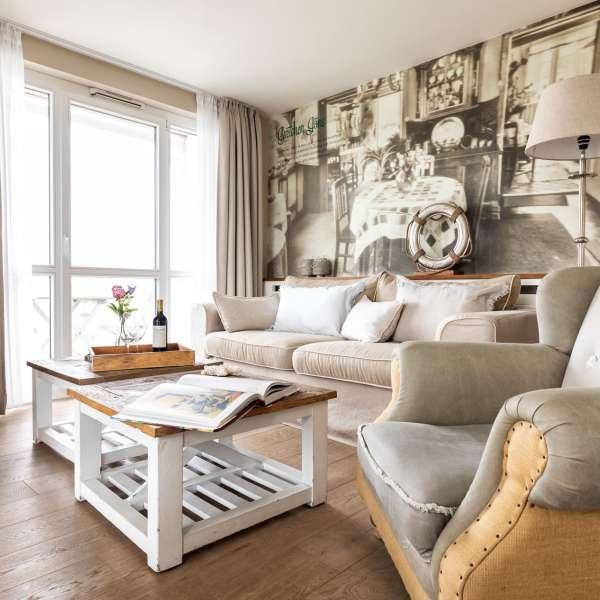 Siddeareal på et af hotelværelserne på Hotel Zweite Heimat i Sankt Peter-Ording