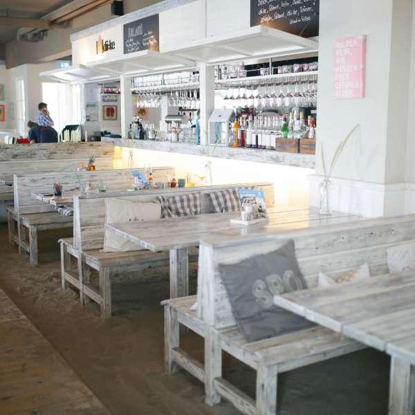 Snack-baren Beachlounge på Beach Motel - Hotel i St. Peter-Ording