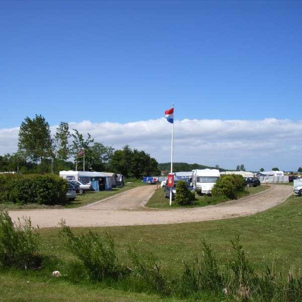 Standpladser til campingvogne på Campingplatz Fördeblick i Westerholz