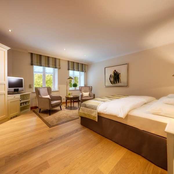 Hotelværelse i Vitalhotel Alter Meierhof i Lyksborg