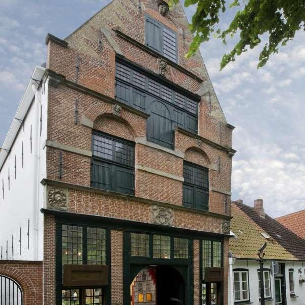 "Museet ""Alte Münze"" i Frederiksstad set udefra"